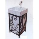Waschbecken und Spiegel 800000004738