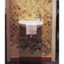 Waschbecken und Spiegel 800000004758