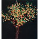 Leuchtende Bäume und Dekor 800000006984